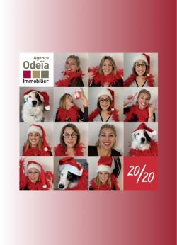L'équipe de l'Agence Odeïa Immobilier vous souhaite une belle année 2020